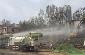 多功能抑尘车城市拆迁降尘