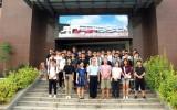 环保实践课堂,嘉应学院师生一行50人到风华环保参观学习