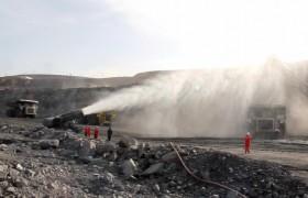 新疆神华露天大型矿区降尘