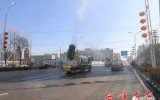 疫情防控,西峰在行动,雾炮消毒 西峰城区开启空间消杀模式